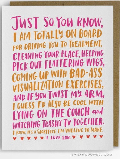 Emily McDowell Empathy Cards Cancer